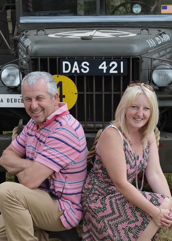 Middlezoy pair take on D-Day remembrance drive