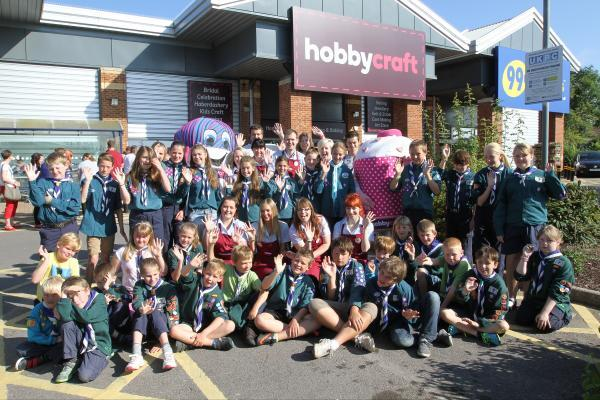 This is The West Country: Hobbycraft open new store in Yeovil