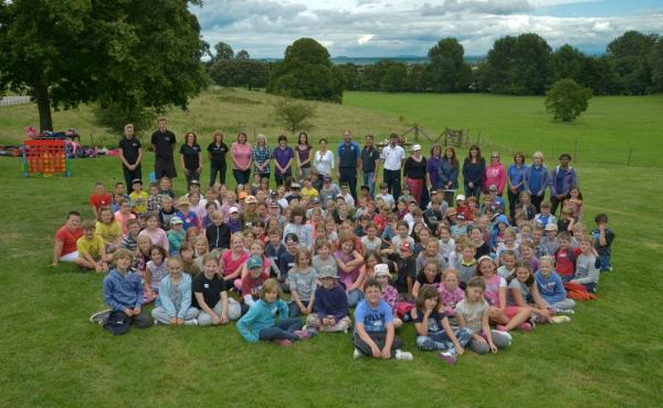 Orienteering day for West Somerset pupils