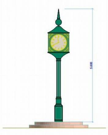 THE REVISED design for the Minehead Clock Tower to mark the Queen's Diamond Jubilee. PHOTO: Submitted.