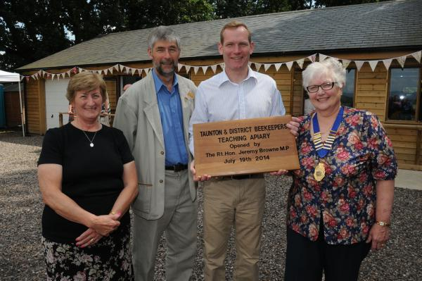 Taunton Beekeepers £83,000 centre of excellence opens at Bradford-on-Tone