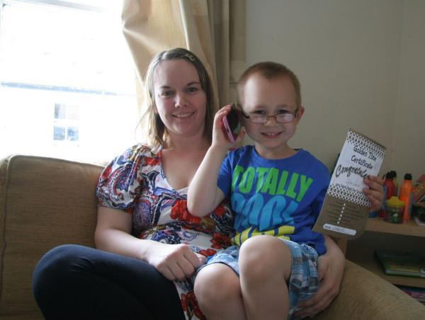 Penryn mother hails 'hero' five-year-old for contacting emergency services