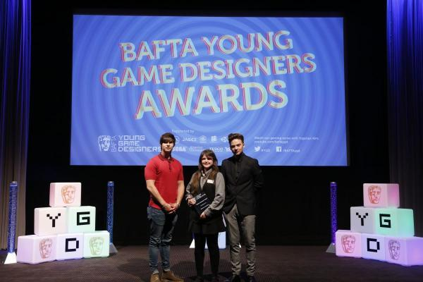 RHIANNA HAWKINS at the presentation with magician Ben Hanlin and singer Conor Maynard.