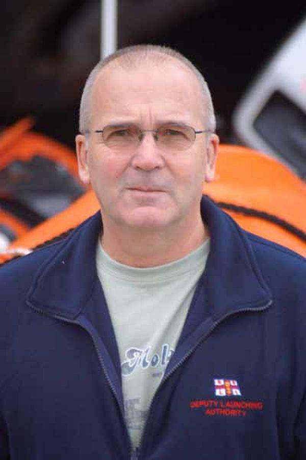 DEREK Williams – handing over the reins of raft race. PHOTO: Submitted.