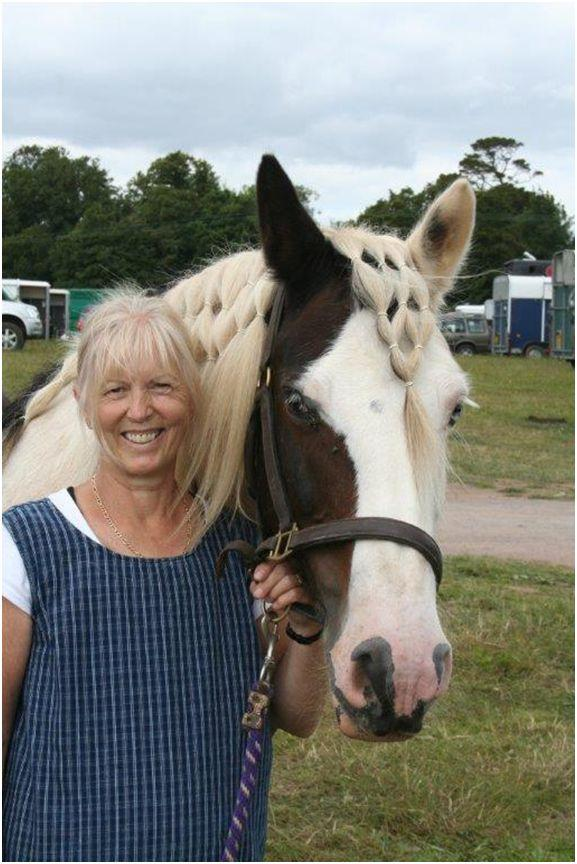 Annie's Ride on horseback for Taunton's St Mary Magdalene