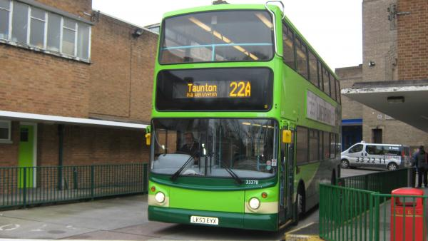 'End of bus disruption in Taunton in sight', claims Buses of Somerset boss
