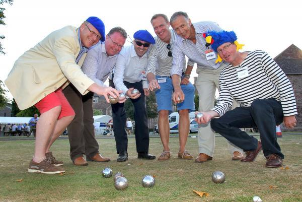 Summerfield running boules tournament in Henlade
