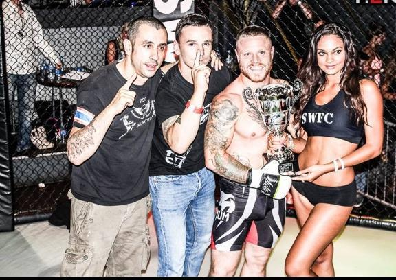 MARTIAL ARTS: Bawden batters Francis to take title