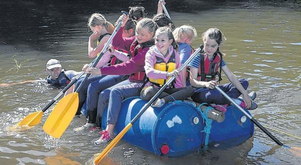 Pupils learn that it's great outdoors