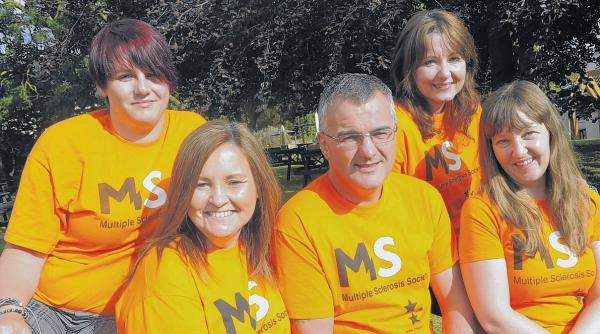 Skydivers take plunge for MS Society