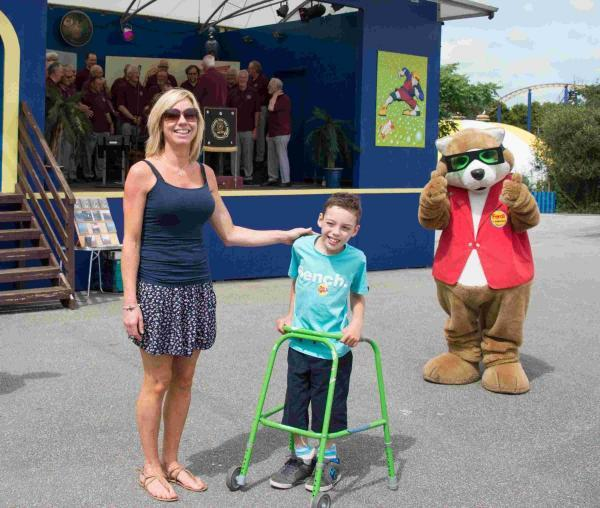 Flambards fundraiser for Helston schoolboy Josh Mills