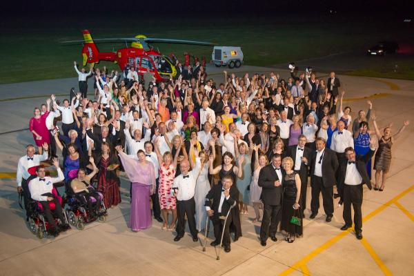 Guests raise funds for Cornwall Air Ambulance at 007 themed ball