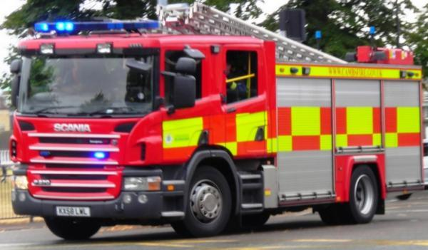 Man suffers serious burns after Taunton house fire