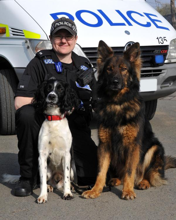 MOD Police new four-legged recruit