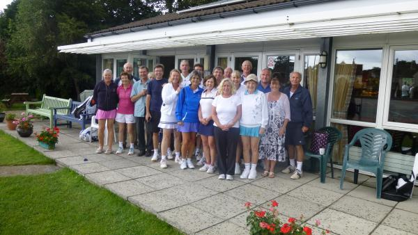 TENNIS: Vets tournament raises charity funds
