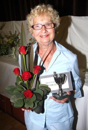 Top flowers on display at St Keverne Garden Society summer show