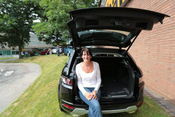 Local competition winner drives away brand new Range Rover