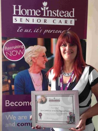 Carer nominated for top accolade