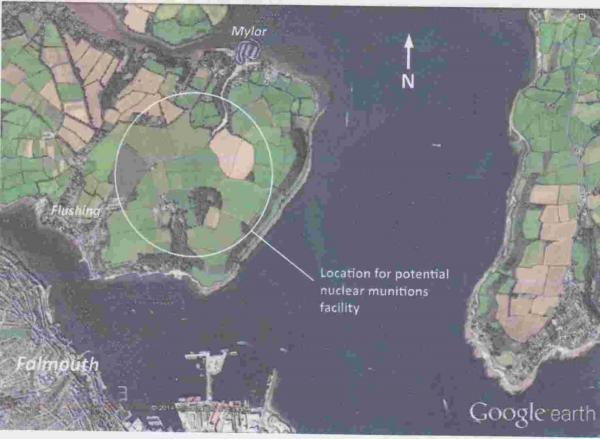 Scottish independence could lead to missiles in Mylor