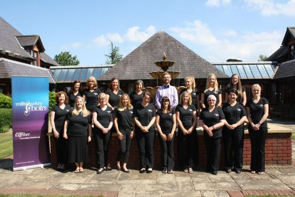 THE Taunton Military Wives' Choir at Dunkirk Memorial House where they entertained residents.