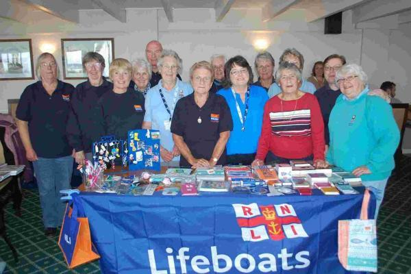 RNLI Guild refuses to let weather ruin Falmouth fete