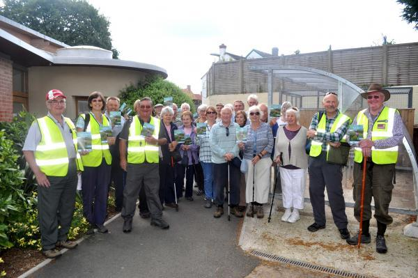 Health walks programme launched