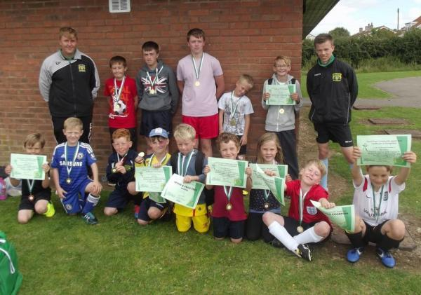 Free kids' coaching goes down a treat