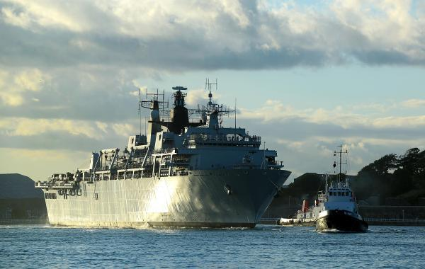 HMS Bulwark leads major amphibious deployment