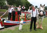 Wet weather can't dampen Canal's Bank Holiday celebrations