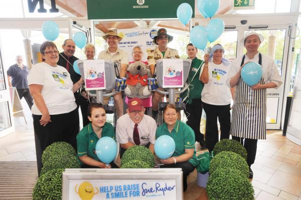 STAFF at Taunton Morrisons pedalled a collective 24,902 miles for charity.