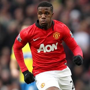 Wilfried Zaha struggled to make any impression for Manch