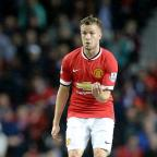 This is The West Country: Manchester United's Tom Cleverley is staying at Old Trafford