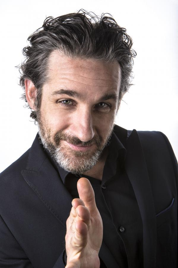 Tom Stade, whose previous show in Tiverton was a sell-out, returns on September 26.