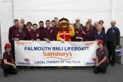 Falmouth Sainsbury's steps in to support RNLI