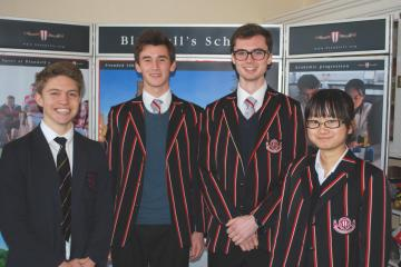 Oxbridge success for Blundell's academic high flyers