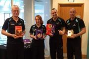 Taunton health club Easter egg colection for young hospital patients