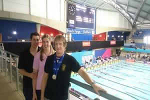 SWIMMING: Beer in fine form at National Masters