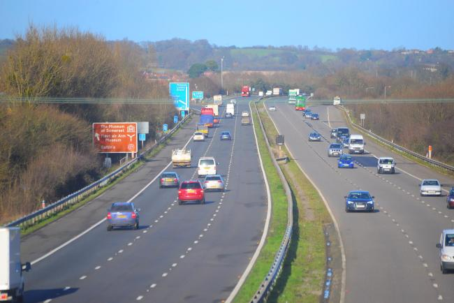 CLOSURE: On the M5 between junctions 25 and 24