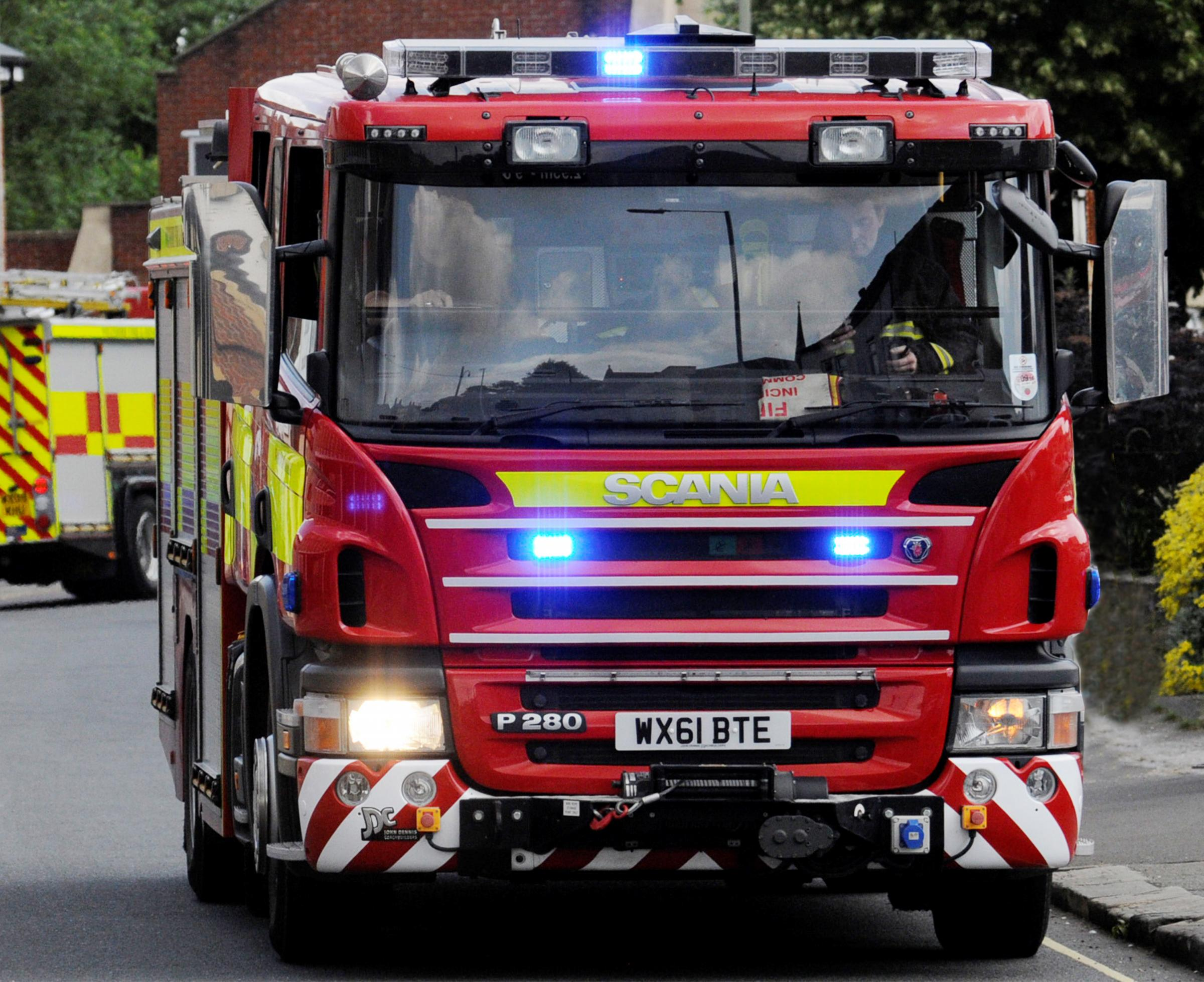 Firefighters called to car fire in early hours