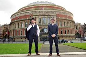 CHAS AND DAVE: The iconic duo will be performing at the Octagon Theatre in Yeovil