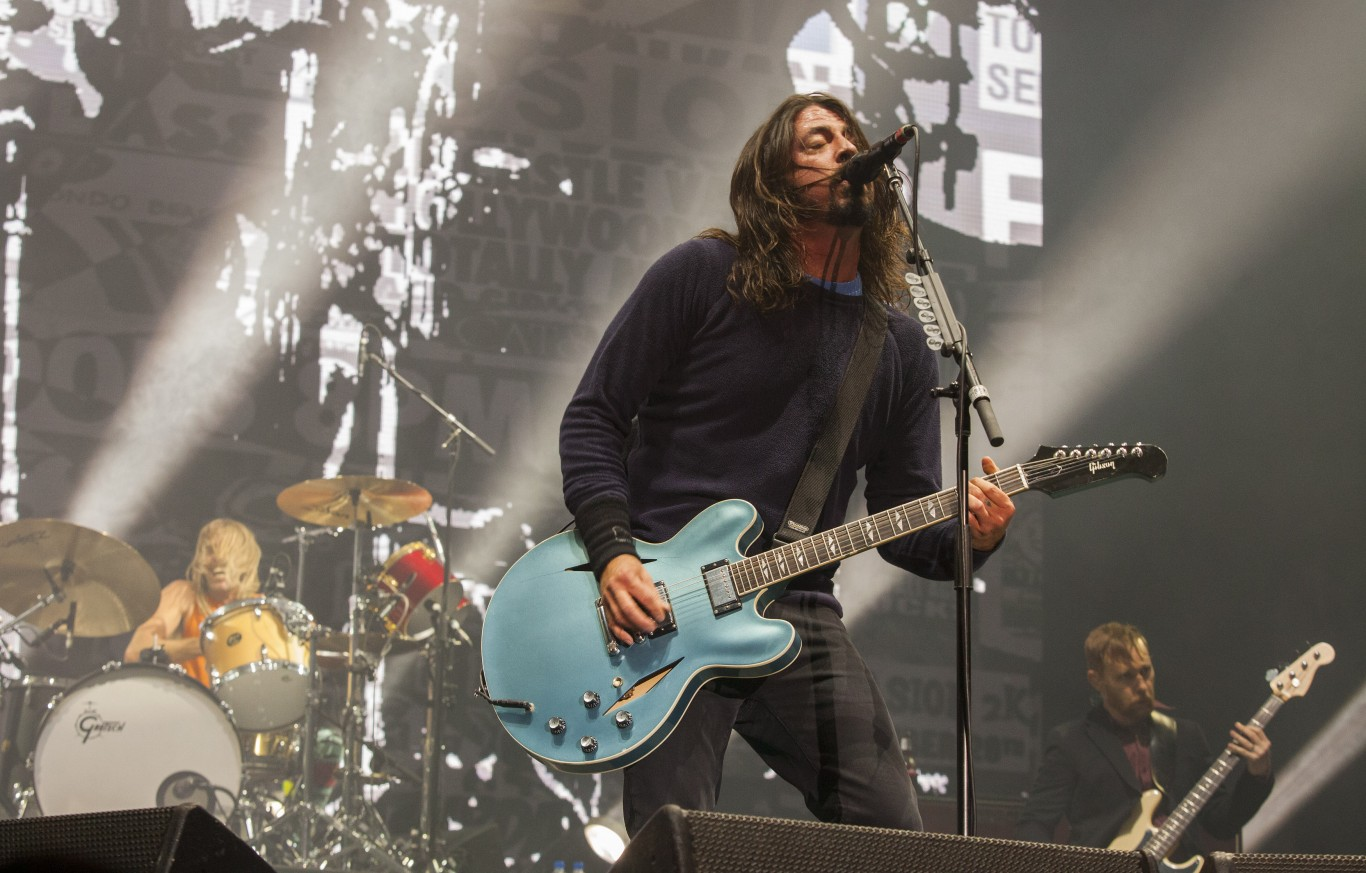 Foo Fighters' Glastonbury announcement looks set to take flight on Friday night...