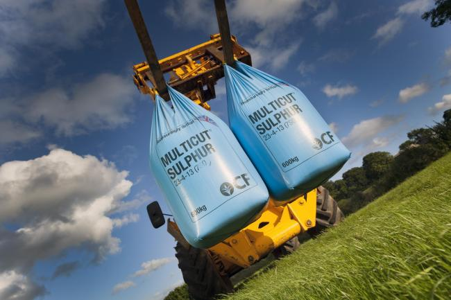 Ten tonnes of CF Fertiliser's Multicut Sulphur is on offer as part of South West Farmer's exclusive competition