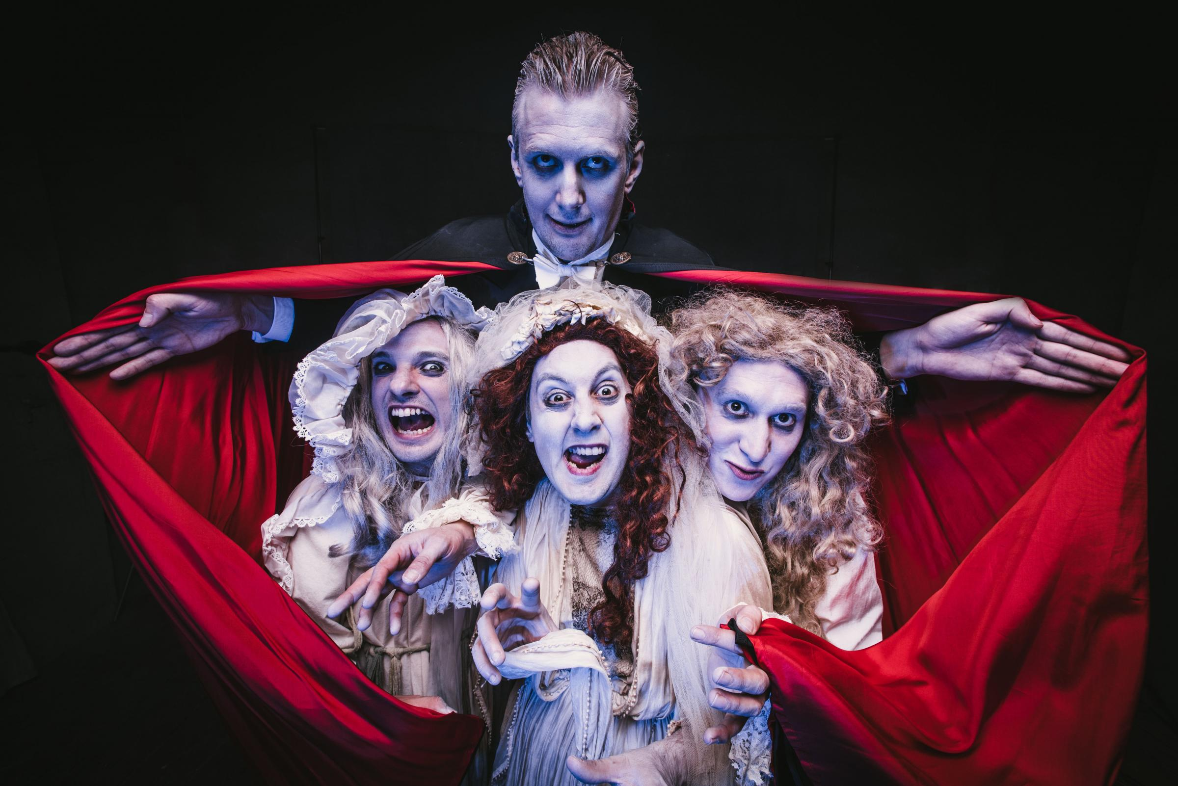 COUNT ON FUN WITH DRACULA;: Dracula the Bloody Truth is coming to the Tacchi-Morris in Taunton