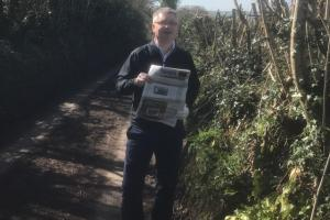 Stephen Hill, co-owner of Cricket St Thomas Golf Club hits back after controversial hedge cutting