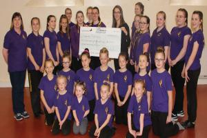 BOOST: The funding from Homes in Sedgemoor will help provide vital equipment for the troupe