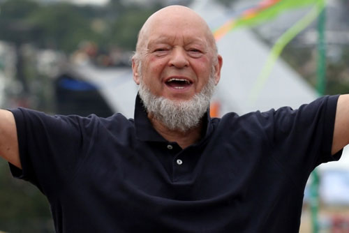 BACKING: Michael Eavis says he will continue to support Oxfam