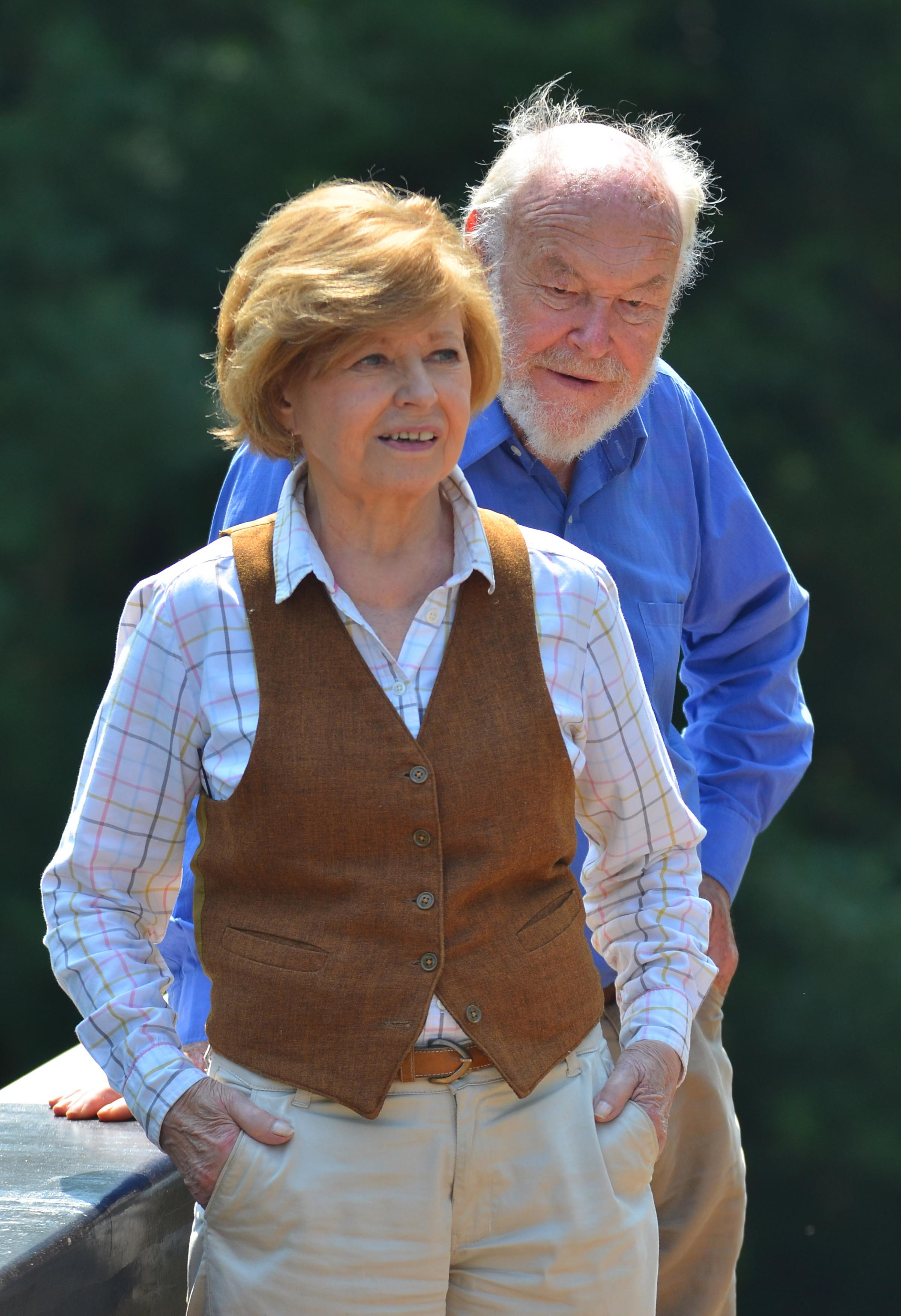 VISIT: Timothy West and Prunella Scales are heading to Taunton
