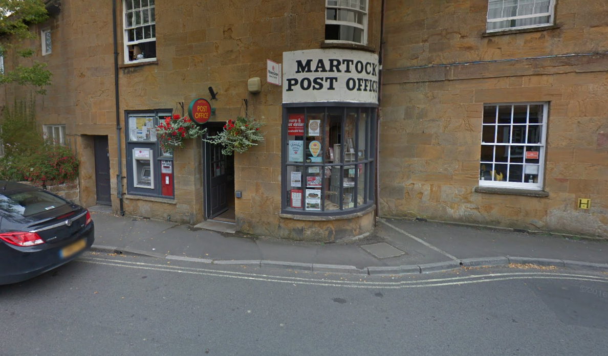 Man in court after alleged armed robbery at Somerset Post Office