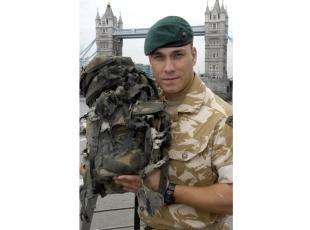 Brave Taunton marine receives George Cross