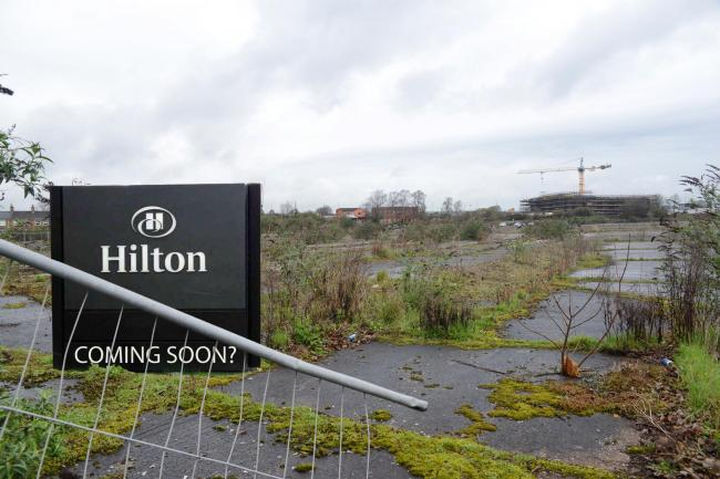 CANCELLED: A hotel will no longer be built on the Firepool site in Taunton